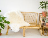 Vintage Bamboo Sofa, Mid Century 1970s Cane Wicker Rattan Furniture, Bohemian Home, Boho Style *Vintage Wanders*