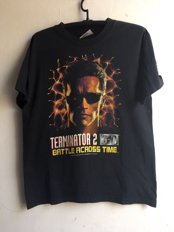 1990s Terminator Vintage Original Movie Tshirt