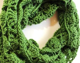 Crochet Lace Scarf Etsy
