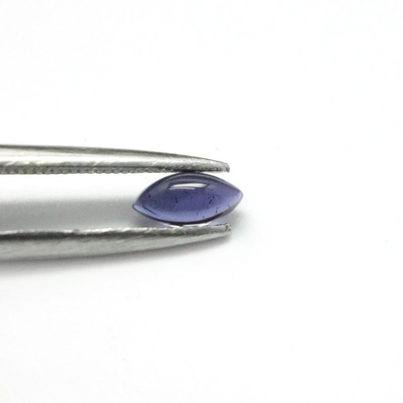 Natural Iolite Marquise Cabochon 3x6mm to 5x10mm Loose Gemstone 3x6mm 4x8mm  5x10mm