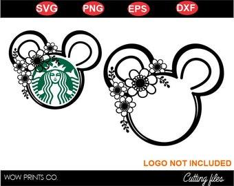 Minnie Starbucks Svg Etsy
