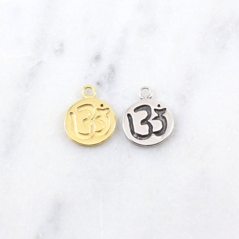 Metal stamping One Piece Sterling Silver Blank Pendant Stamp on Coin 12mm