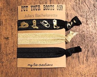 Nashville Bachelorette Hair Tie Set 28a99afbb83