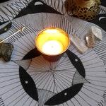 Moon Phases Eight Cloth   Ritual Cloth   Altar Cloth   Tarot Cloth   Divination Cloth   Sanctuary Cloth   Sheer Scarf Wrap