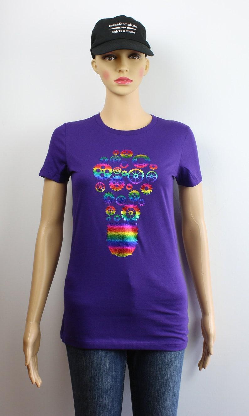 damen t-shirt motiv natur