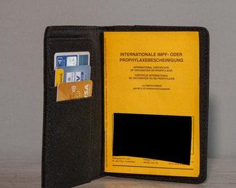 Etui für Impf/Reisepass,Impfpasshülle personalisiert ,Mappe für Impfausweis