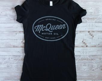 Vintage T-Shirt in schwarz, schwarzes Damen T-Shirt, T-Shirt für Frauen Retro-Style