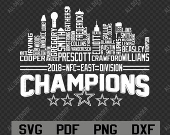4f9ec0123 Dallas Cowboys Skyline Names svg