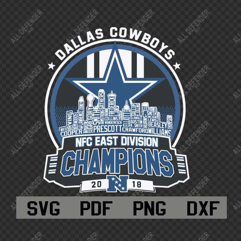 c2a2f1b27 Dallas Cowboys svg Dallas Cowboys Nfc East Division Champion