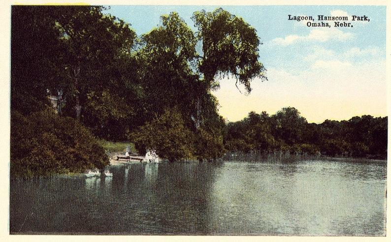 Omaha,Nebraska Lagoon,Hanscom Park