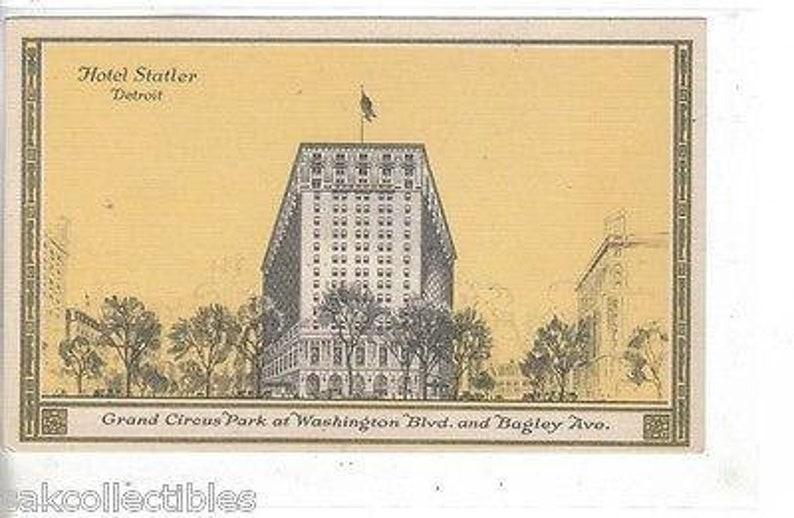 Hotel Statler-Detroit,Michigan