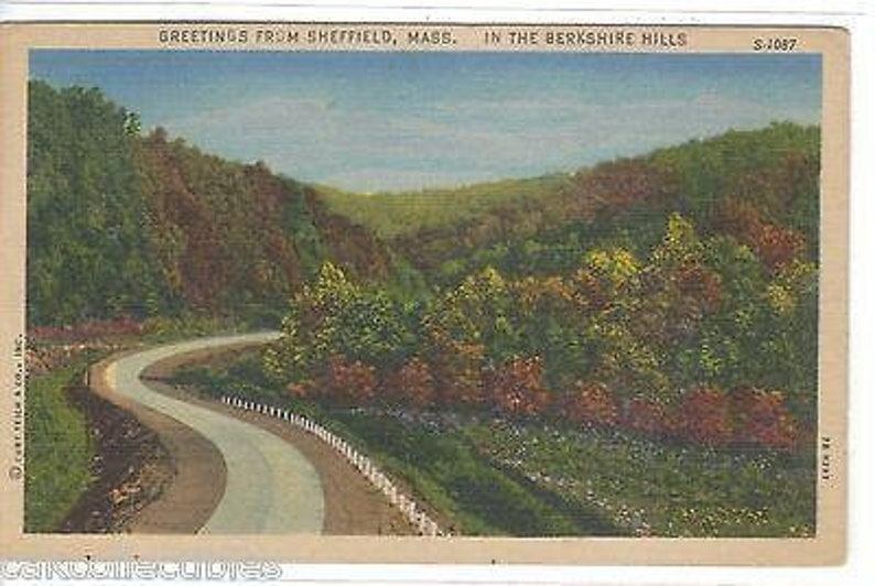 In The Berkshire Hills-Greetings from Sheffield,Massachusetts