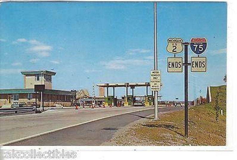 Marie,Michigan Toll Gate,International Bridge-Sault Ste