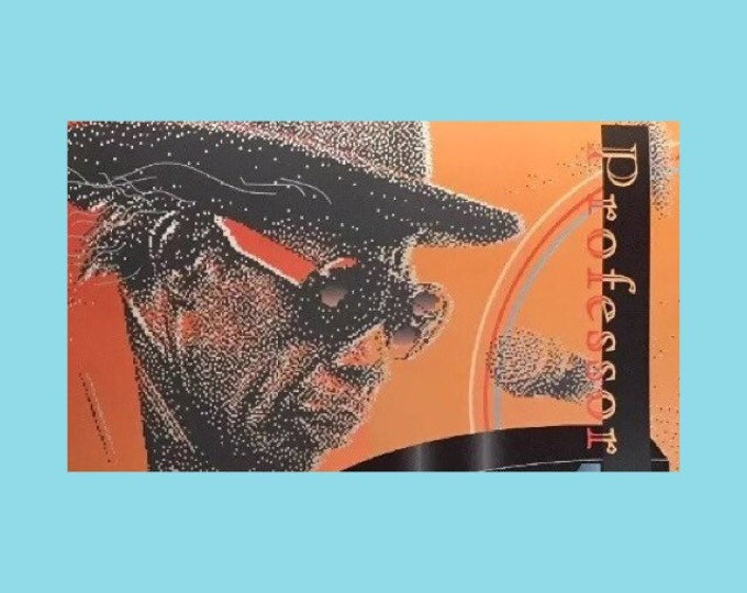 1993 Jazz Fest Memorial Poster Professor Longhair Signed/Numbered