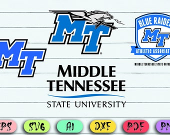 067cee3e0 MTSU svg, Middle Tennessee State University Blue Raider svg,University of  Tennessee svg,digital files-Svg,Eps,dxf,png,Instant download