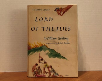Keepsake William Golding Book Ornament Vintage Novel Ornament Christmas and Holiday Decorations Home Decor Lord of the Flies