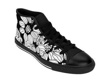 fd49777c831e Women s Floral Goth Shoes