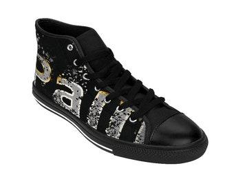 92bbfaacf9e2 Women s Black Pain Goth Shoes