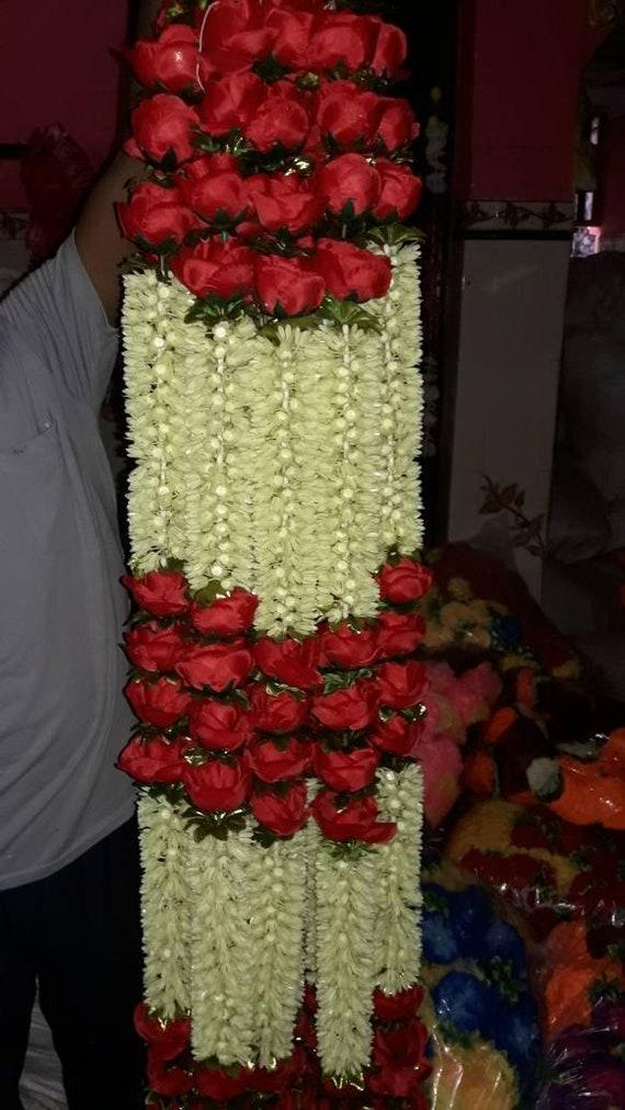 10 Pack gemischte künstliche Ringelblume Blumengirlanden Strings 5 ft lange