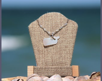 Authentic Wampanoag Martha's Vineyard Native American Mother of PEARL and Sterling SILVER Whale Pendant Gift Boxed w/ Free Domestic Shipping