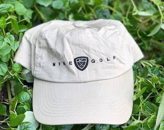 c7546ef893b Vintage Nike Swoosh Nike Golf Original Logo Hat cap