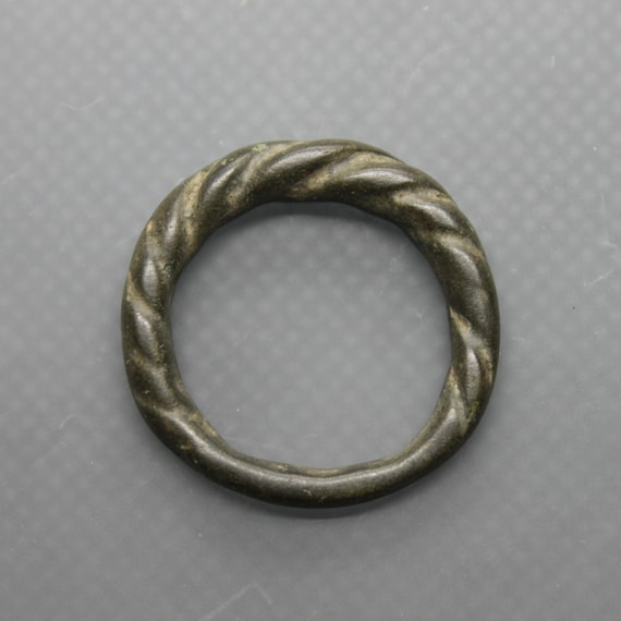 Ancient Medieval Viking oath twisted ring. Medieva