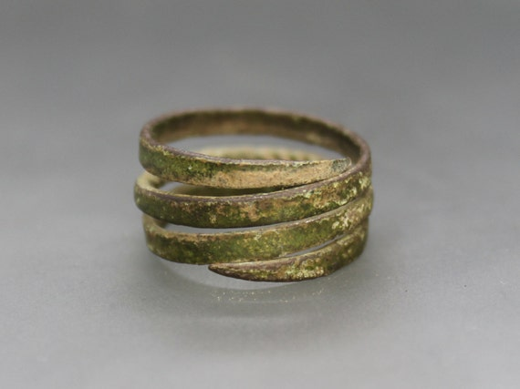 Ancient Medieval Viking Ring  Viking age ring  Birka ring  Ancient ring  Viking jewelry  Viking artifact  Certificate upon request