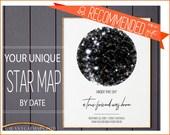 Personalized Friendship Gift, Best Friend Sister Birthday Christmas Confidant Mentor Custom Art Print, Constellation Print Printable Jpg