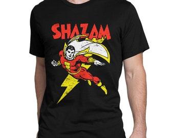 DC Comic Classic Shazam Batson Family Alex Ross Art custom tee AnySize AnyColor