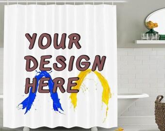 Custom Shower Curtain Etsy