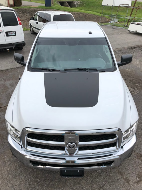 Dodge RAM 2500 Hood Vent Decal Inserts 2010 2011 2012 2013 2014 2015 2016