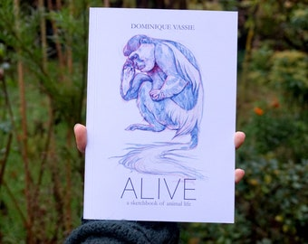 ALIVE - A5 artbook - signed
