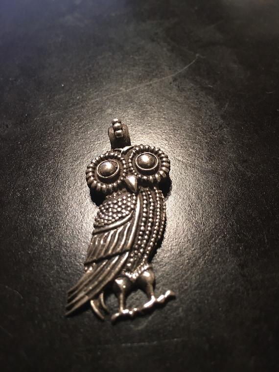 The emblem of Goddess Athena pendant