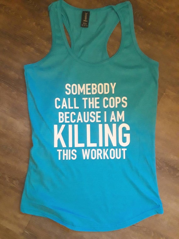 BACK To The GYM  Social Distancing Workout Tank  Women/'s Racerback Tank or Muscle Tank