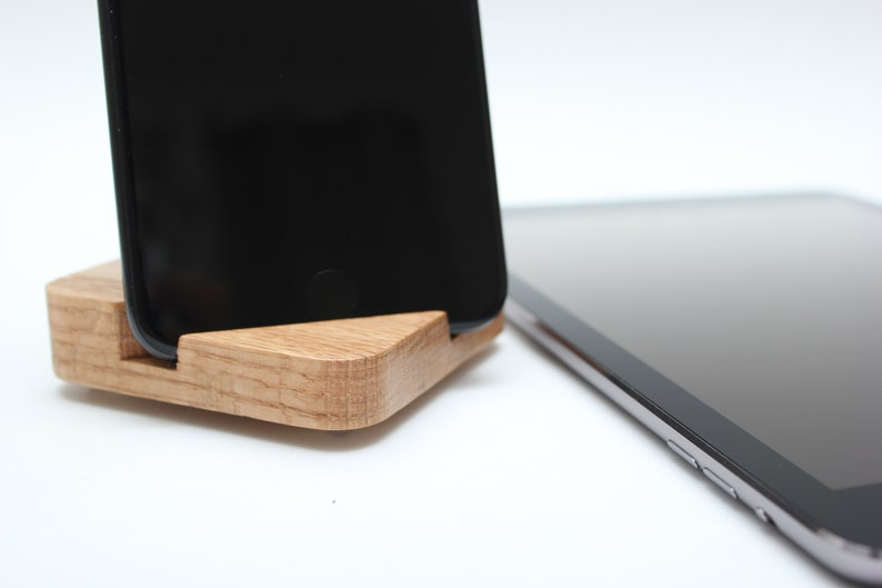 Wooden Phone Stand  Wooden Tablet Stand  Smart Phone Stand  image 0