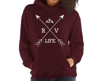 RV Life Hoodie , Camping Shirt , Travel Shirt
