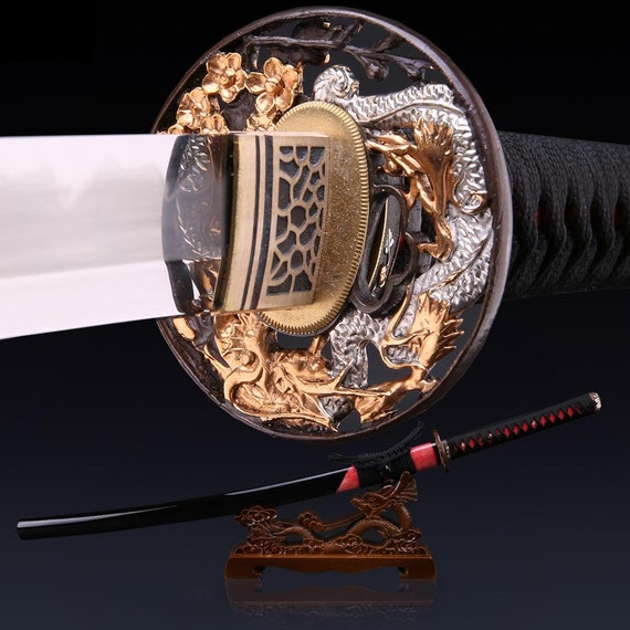 JAPANESE ANTIQUE TSUBA---STORAGE BAGS--SAMURAI--ORIGNAL--KATANA--WAKIZASHI--SAYA
