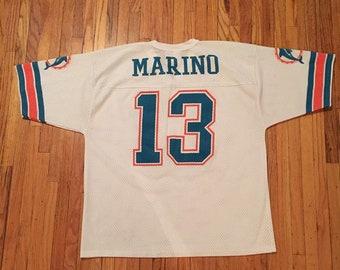 Logo Athletic Dan Marino Miami Dolphins jersey vintage 87de81bbb