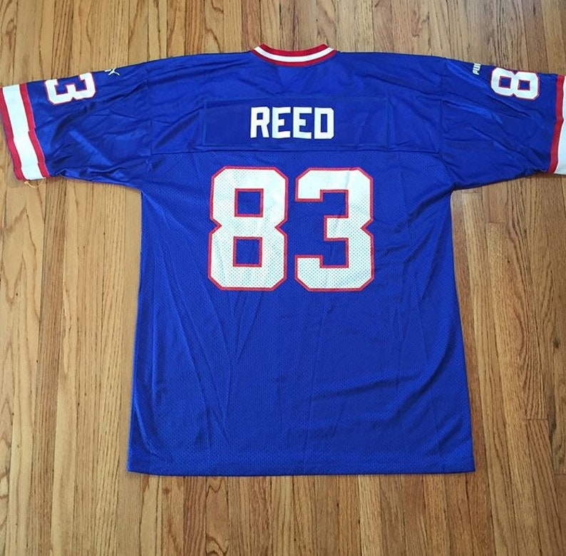 competitive price 9ed7c 35fbd Vintage Puma Buffalo Bills Andre Reed NFL Jersey #83 Large