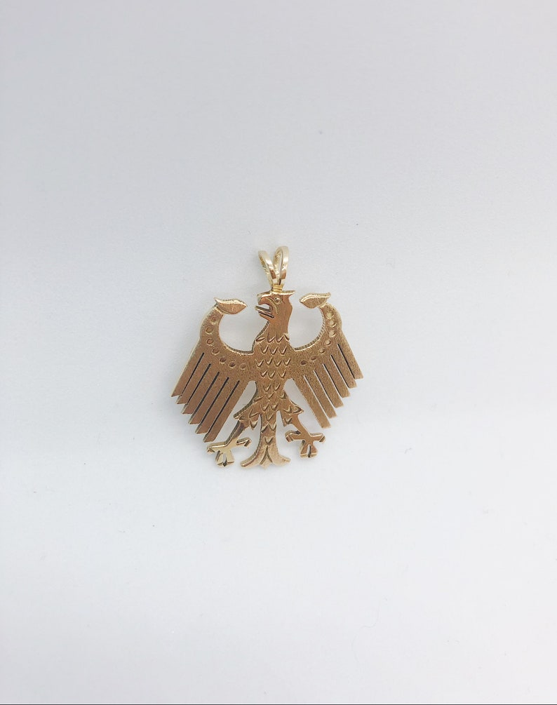 Vintage Russian Eagle in 14 Karat Yellow Gold