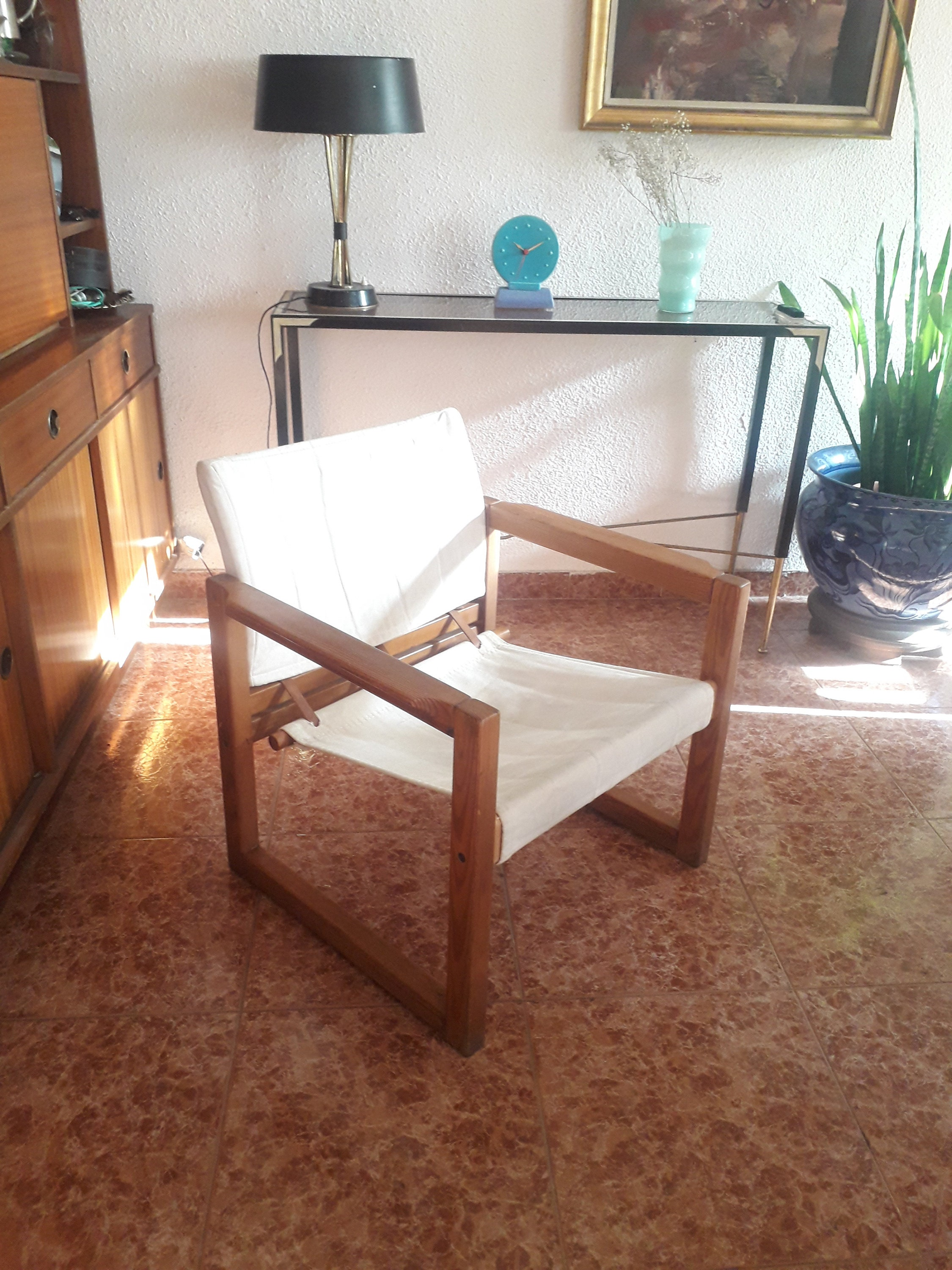 Diana Safari Chair by KARIN MOBRING for IKEA, 1972, used for sale