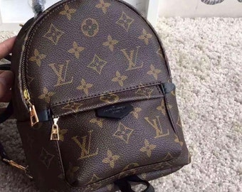 e47fd0d542e Custom Handmade Louis Vuitton Mini Backpack Womens Childrens Bookbag