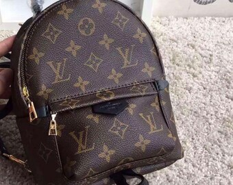 408ef51f9dcf Custom Handmade Louis Vuitton Mini Backpack Womens Childrens Bookbag