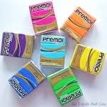 Sculpey Premo Polymer Clay, 2 oz Blocks, Pick Your Colors, Great for DIY Jewelry and Other Projects, Best Price from Fellow PC Artists