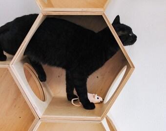 Tremendous Cat Tree House Etsy Download Free Architecture Designs Scobabritishbridgeorg