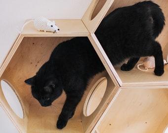 Pleasing Modern Cat House Etsy Download Free Architecture Designs Scobabritishbridgeorg