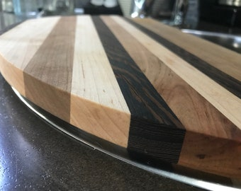 """Airstream Sink Cover, Round, Wood Cutting Board, 15"""", 16"""", Airstream Gift, Sink Board, Flying Cloud, International, Basecamp, FREE SHIPPING"""