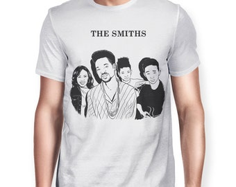 3f2aa71fd929 The Smiths Band Funny T-Shirt, Will Smith Family Shirt, Men's Women's All  Sizes
