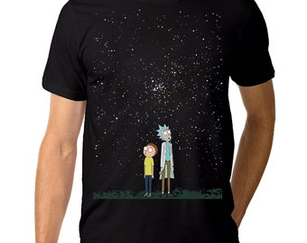 e23dd49a0 Rick Sanchez Starry Night T-Shirt, Men's Women's All Sizes