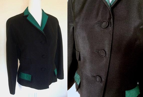 50s Silk Blazer